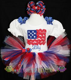 4th of July outfit for Natalie