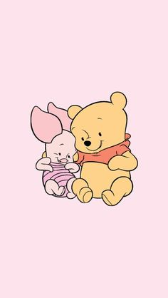 Cupcakesandrainbowsxoxo Ba Pooh Bear Lockscreens intended for The Amazing Winnie the Pooh Pastel Wallpaper - All Cartoon Wallpapers Disney Phone Wallpaper, Cartoon Wallpaper Iphone, Cute Cartoon Wallpapers, Kawaii Background, Disney Background, Disney Stitch, Disney Kunst, Disney Art, Cute Wallpaper Backgrounds