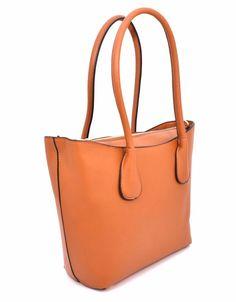 HAND BAG 1624 403A CUOIO Borsa Mano Shopping Donna Primavera 2017 Tipo Obag