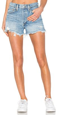 e9fcb219c2 Shop for AGOLDE Parker Vintage Cut Off Short in Swapmeet at REVOLVE. Free 2-