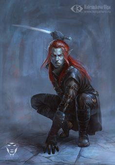 Shrinethatall. Membro dos Servos do Bruxo, um Elfo sombrio com habilidades e poder inigualável. Uma de suas habilidades é o dom da premonição.