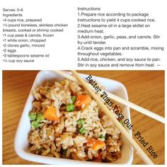 Better Than Take Out - Fried Rice