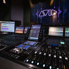 """Avid - Avid, A few years ago, CNET ran a story posing the question, """"How can receivers sound bette, Music Studio Room, Sound Studio, Home Recording Studio Setup, Music Mixer, Editing Suite, Digital Audio Workstation, Recorder Music, Writing Lab, Mens Gear"""