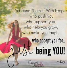"Today's thought: ""Surround yourself with people who push you who support you, who help you grow . Wonderful Day Quotes, Cute Good Morning Quotes, Happy Morning Quotes, Morning Texts, Good Morning Inspirational Quotes, Morning Greetings Quotes, Good Morning Messages, Morning Prayers, Good Morning Good Night"