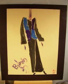 C PETERSON oil painting Original ART retro fashion # 14 #Impressionismexpressionismcontemporaryart