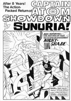 Charlton Bullseye #1, page 25 by Steve Ditko & John Byrne. 1975.