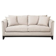 Contemporary or traditional, Pauline Sofa in Pearl will work with any style.   $1,099.00