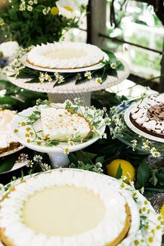 [ad] A pie party using @EdwardsDesserts was the perfect way to celebrate the summer. We tried a sampling of Edwards® Lemon Meringue Pie, Key Lime Pie, and Hershey's® Chocolate Crème Pie. Delicious! #BringTheSweet