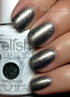 Gelish Showstopping Swatch... love her blog and Gelish swatches