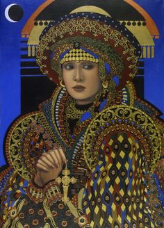 Desdemona Painting - Desdemona Fine Art Print - Jane Whiting Chrzanoska.