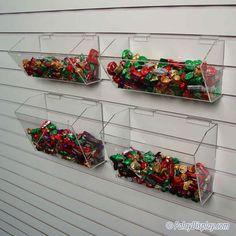 Modular Bin Systems for slatwall. Modular Bin Systems for retail store display. Slat Wall, Store Displays, Trays, Store Windows, Tray, Food Trays