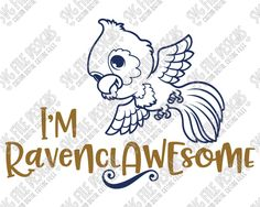 I'm Ravenclawesome Ravenclaw Harry Potter Cut File Set in SVG, EPS, DXF, JPEG, and PNG