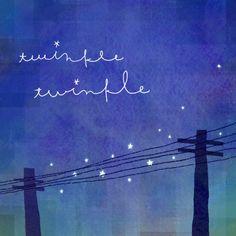 twinkle twinkle/little little songs/五線譜の星