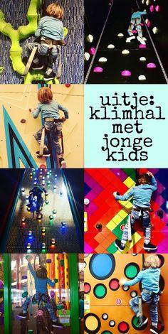 Uitje: klimhal met jonge kids – Leuk met kids #leukmetkids #climbing #kids