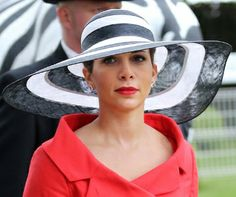 Princess Haya Bint Al Hussein of Jordan, Sheikha of Dubai, June 1, 2013 in Philip Treacy | The Royal Hats Blog | Posted on December 12, 2013 by HatQueen