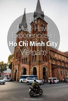 Best things to do in Ho Chi Minh City, aka Saigon: tour the Cu Chu Tunnels, shoot an War Remnants Museum, motorbike tours, and food tours. Vietnam Ho Chi Minh, Saigon Vietnam, Ho Chi Minh City, Vietnam War, Visit Vietnam, Solo Travel, Asia Travel, Travel Tips, Ho Chi Minh Stadt