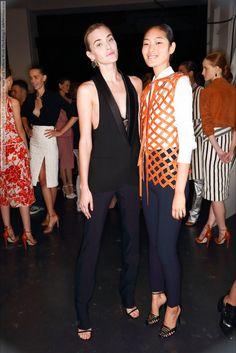 Altuzarra (Spring-Summer 2015) R-T-W collection at New York Fashion Week (Backstage)  #Altuzarra #NewYork See full set - http://celebsvenue.com/altuzarra-spring-summer-2015-r-t-w-collection-at-new-york-fashion-week-backstage/