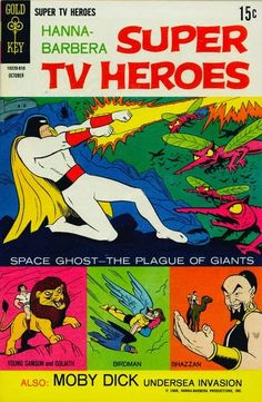 Gold Key's Hanna Barbera Super TV Heroes #3 featuring Space Ghost!