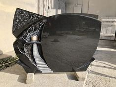 Tombstone Designs, Black Granite, Grave Memorials, Monuments, Funeral, Riding Helmets, Death, Memories, Indian