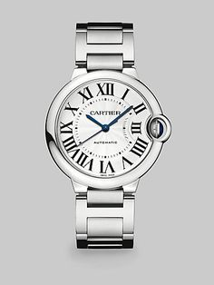 Cartier - Ballon Bleu de Cartier Stainless Steel Watch - Saks.com
