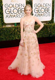 Greer Grammer In Lorena Sarbu.   Golden Globes 2015 - ELLE.com