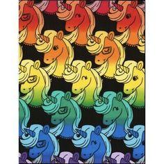 "Timeless Treasures FUN ""RAINBOW UNICORN"" Fabric BLACK 100% Quilt Cotton NEW RARE   eBay Black Unicorn, Unicorn Head, Rainbow Unicorn, Line Patterns, Fabric Patterns, Hancocks Of Paducah, Horse Fabric, Modes4u, Sewing Material"