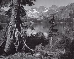1935 Shadow Lake, Mount Ritter and Banner Peak, Sierra Nevada, California by Ansel Adams 84.91.42