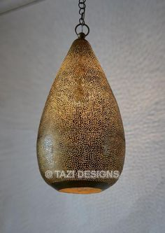 This contemporary Pin-dot pendant light is simply delightful! Moroccan Pendant Light, Moroccan Lamp, Rustic Pendant Lighting, Pendant Lights, Used Furniture For Sale, Contemporary Wall Lights, Copper Lantern, Mid Century Modern Lighting, Beautiful Lights