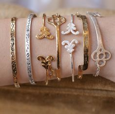 """Acanthus """"Inscriptive"""" collection, Arm Party!  #delightfullychicfall"""