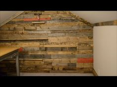 Pallet wall secret door