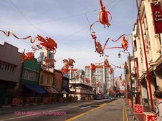 Chinatown - #Singapore. #ChineseNewYear Galloping horses done by Sichuan craftsmen