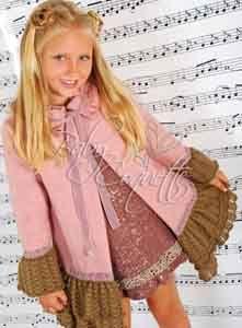 abrigo y vestido disponible en www.babycoquette.com