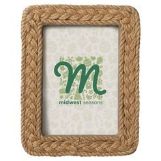 Able to charm guests on its own or grouped in a nautical display, this lovely picture frame is a simple yet versatile accent that displays beloved photos in ...