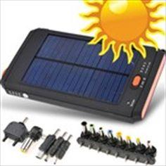 Solar Energy Mobile Power Bank External Battery Charger for Laptop Sony Ericsson PDA External Battery Charger, Solar Energy, Sony, Laptop, Solar Power, Laptops