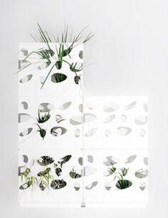 Gardenwall Modular Planters by Gordon Tait
