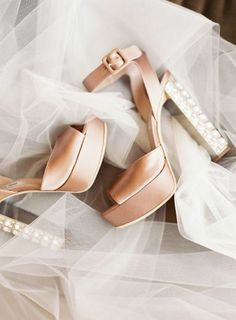 Platform wedding shoes: http://www.stylemepretty.com/2015/10/04/wedding-shoes-worth-a-double-take/: