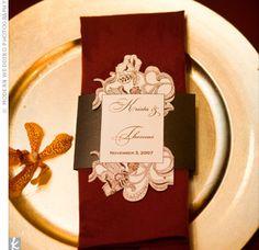 menue card