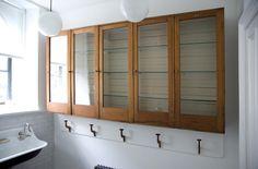 great bathroom storage cabinets // Elizabeth Roberts