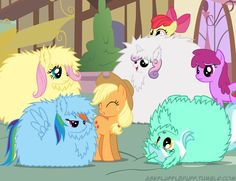 Fluffle puff ponies spoofs