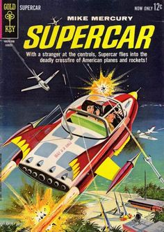 Cover for Supercar (Western, 1962 series) #4