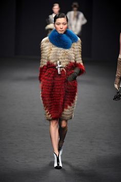 Fur Fashion Trends 2013 - Milan