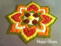 onam-festival-celebrations-story-wishes-pookalam-songs-photos Rangoli Designs Flower, Rangoli Border Designs, Rangoli Ideas, Colorful Rangoli Designs, Rangoli Designs Diwali, Rangoli Designs Images, Flower Rangoli, Beautiful Rangoli Designs, Flower Designs