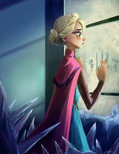 Elsa by Kinopia on deviantART