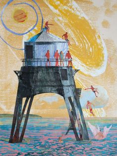 'The Old Lighthouse' by Phil Cooper
