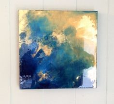 gold leaf abstract painting - Google Search