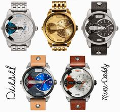 Diesel: New collection for men! #watches #ModaPty
