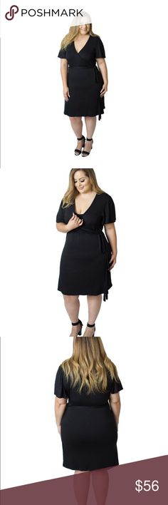 Whitney Nursing Wrap Dress in Black A chic, super-soft wrap dress for Curvy mamas! The sash easily unties for nursing and pumping, while the special removable inner panel provides extra coverage for breastfeeding.   Made in the U.S.A. Udderly Hot Mama Dresses