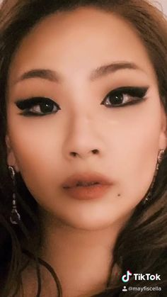 Dark Makeup, Makeup For Brown Eyes, Style Ulzzang, Ulzzang Makeup, Korean Eye Makeup, Alternative Makeup, Makeup Makeover, Makeup Tattoos, Eyeliner Tutorial
