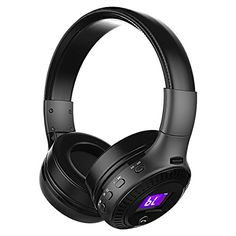 Kids HeadphonesFoldable Teenager Hifi Bluetooth Headset OnEar with MicLED Screen35mm Audio Cable and FM RadioAdjustable Earphone for Smartphone Tablet PC Support SD CardChristmas Gift for Boys ** Continue to the product at the image link-affiliate link. #ChristmasGiftsForMen