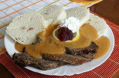 European Cuisine, Good Food, Yummy Food, Celeriac, Sirloin Steaks, Root Vegetables, Creamy Sauce, Orange Slices, Eastern Europe
